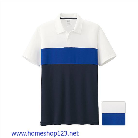 Áo Phông Polo Thể Thao Nam Uniqlo-Công Nghệ Dry EX