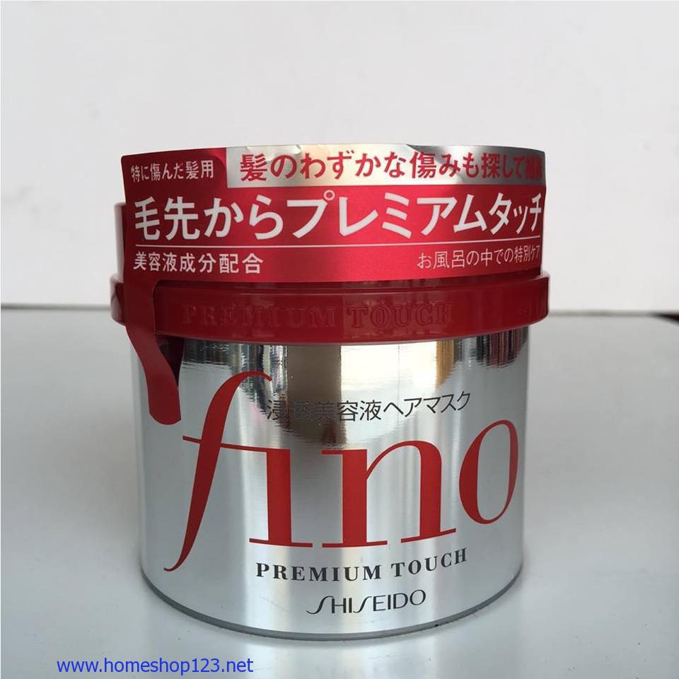 Kem Ủ và Hấp Tóc Fino Shisedo Nhật Bản