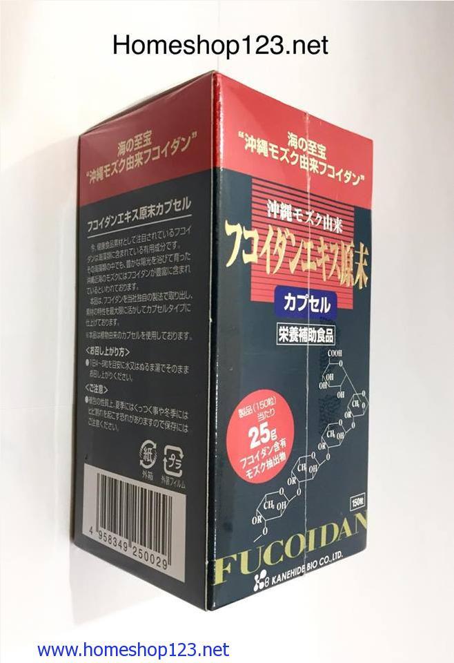 OKINAWA FUCOIDAN_ Thực phẩm chức năng phòng ngừa và chữa trị bệnh Ung Thư 240mg×150viên