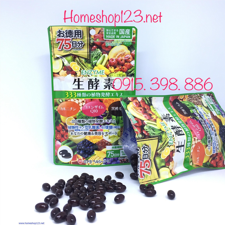 Viên Rau Nhật Bản Enzyme thô 333