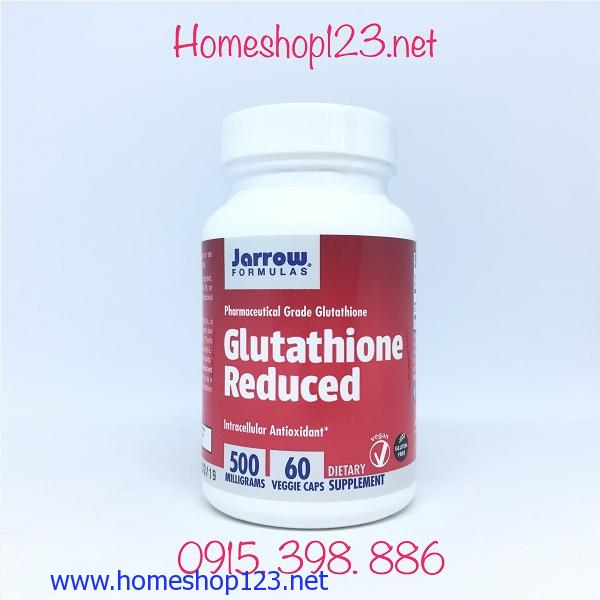 Viên uống Jarrow Formulas Glutathione Reduced 500mg 60 viên