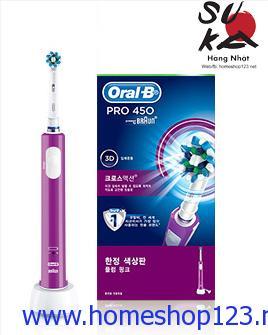 Bàn Chải Đánh Răng Điện Braun Oral-B PRO 450