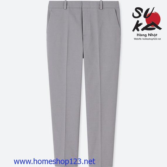 Quần vải nữ Uniqlo 404661-05 Gray