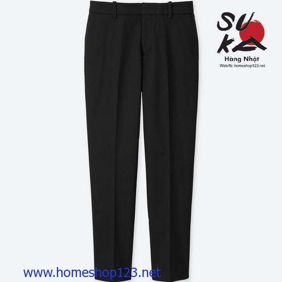 Quần vải nữ Uniqlo 184794-09 Black