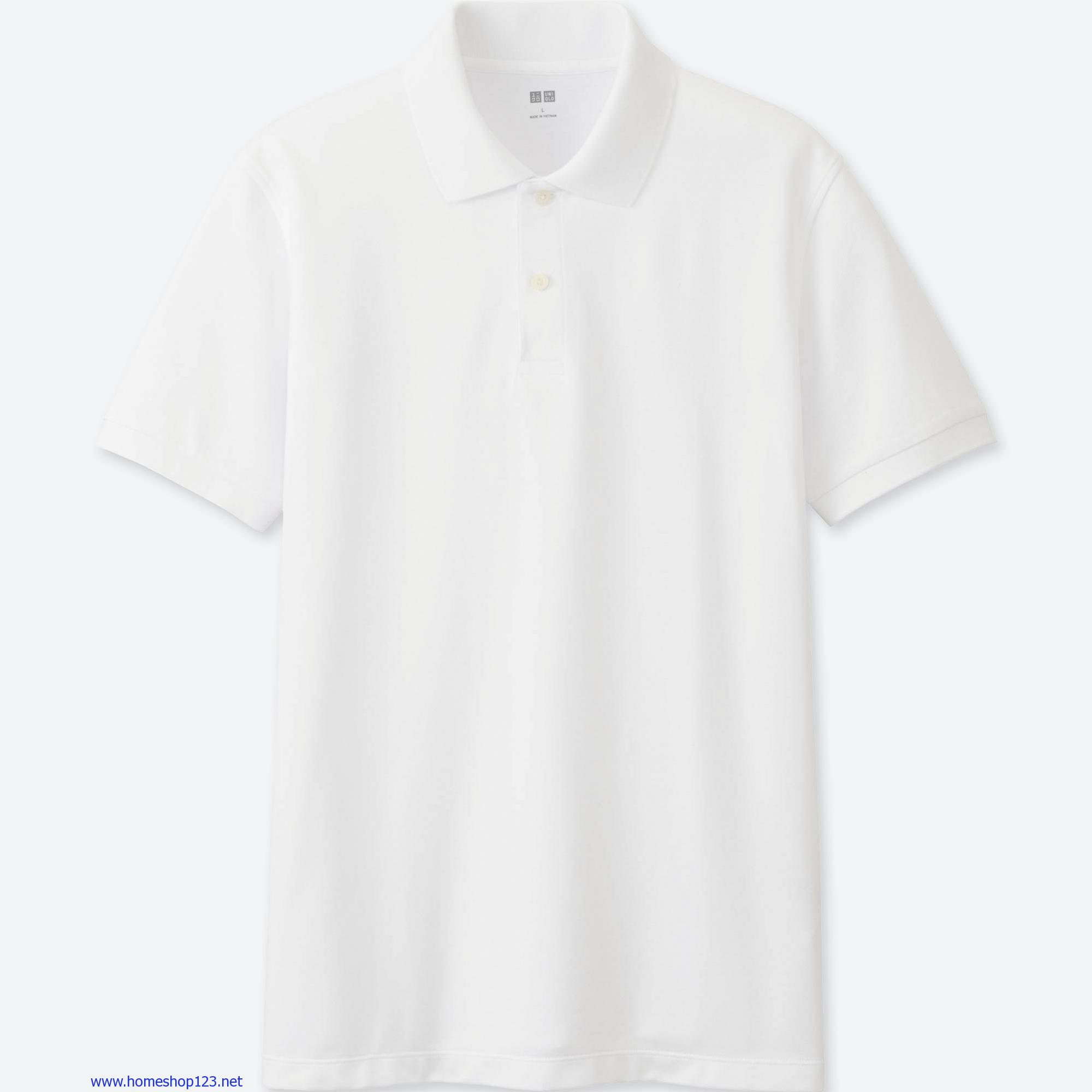 ÁO phông Polo Nam Uniqlo 00 White