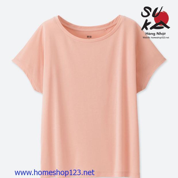 Áo phông nữ cánh dơi Uniqlo 182170-10 Pink