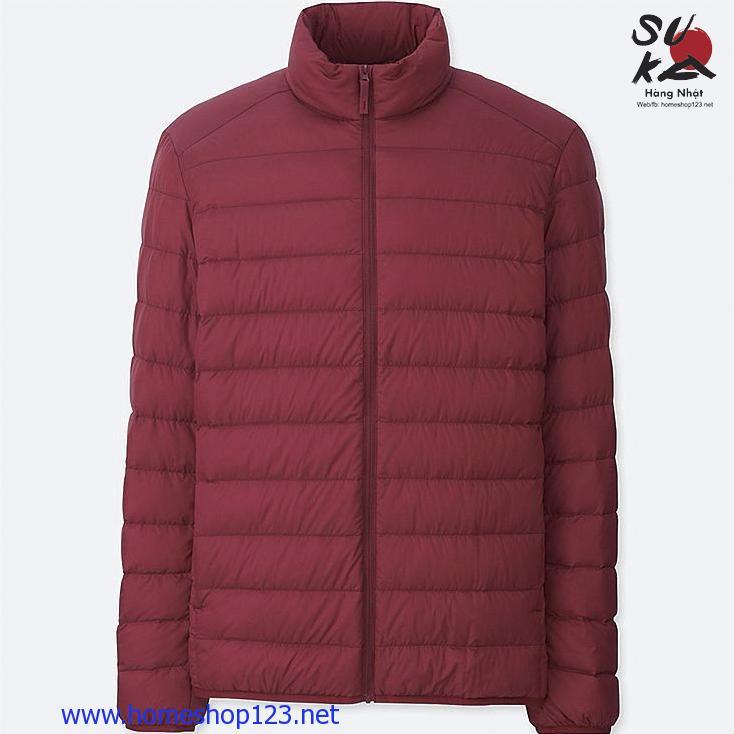Áo Lông Vũ Nam Siêu Nhẹ Nhật Bản Uniqlo 2018 400504-16 RED