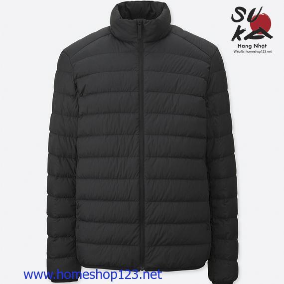 Áo Lông Vũ Nam Siêu Nhẹ Nhật Bản Uniqlo 2018 400504-09 BLACK