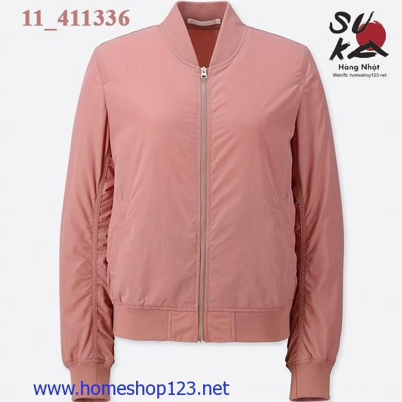 Áo Bomber Nữ Uniqlo 2018 - 411336_11 Pink