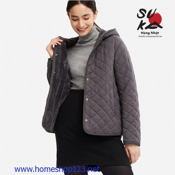 Áo khoác Lông Cừu Trần Trám Uniqlo - Mẫu mới 2019 - 08 Dark Gray