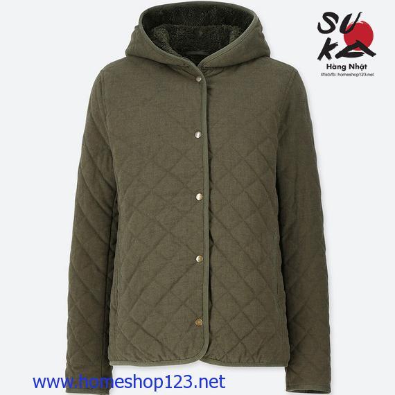 Áo khoác Lông Cừu Trần Trám Uniqlo - Mẫu mới 2019 - 58 Dark Green