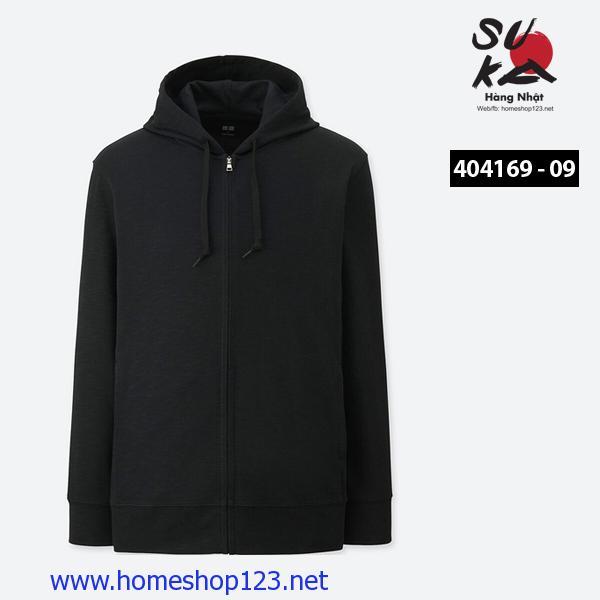 Áo chống nắng Nam Uniqlo 404169 - 09 Black