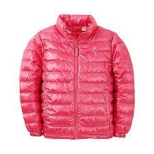 Áo lông vũ siêu nhẹ trẻ em - Pink