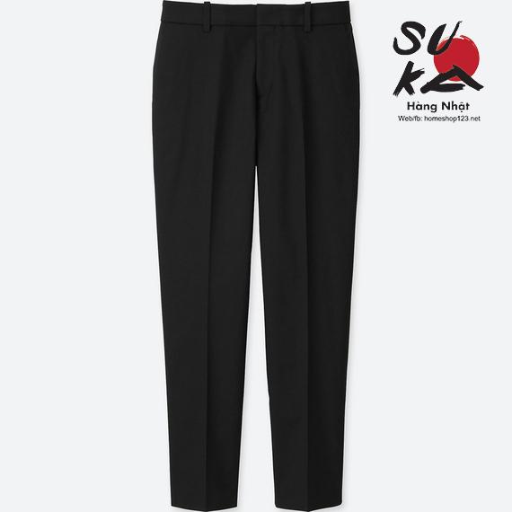 Quần vải nữ Nhật Bản Uniqlo 184794-09 Black