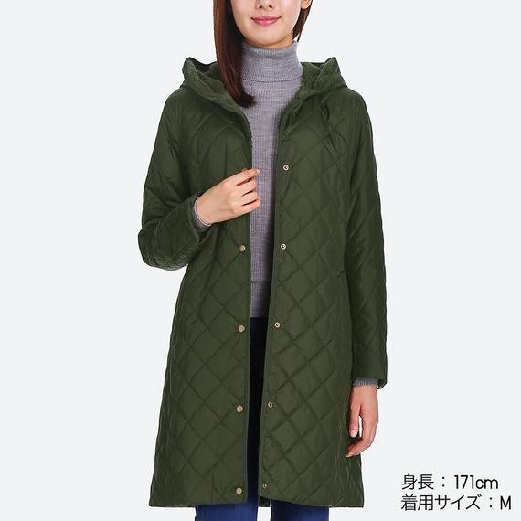áo khoác lông cừu trần trám dáng dài nhật bản uniqlo