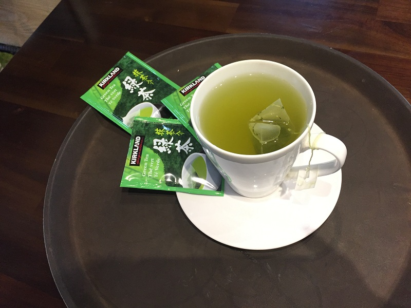 trà xanh green tea kirkland nhật bản