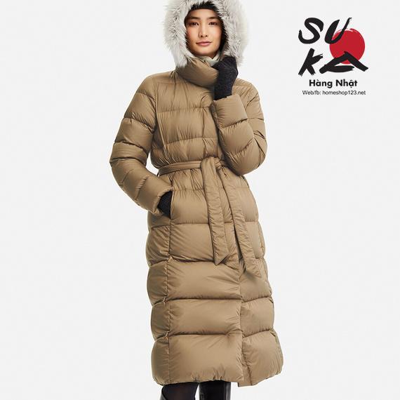 Áo lông vũ dáng dài siêu ấm Uniqlo Nhật Bản