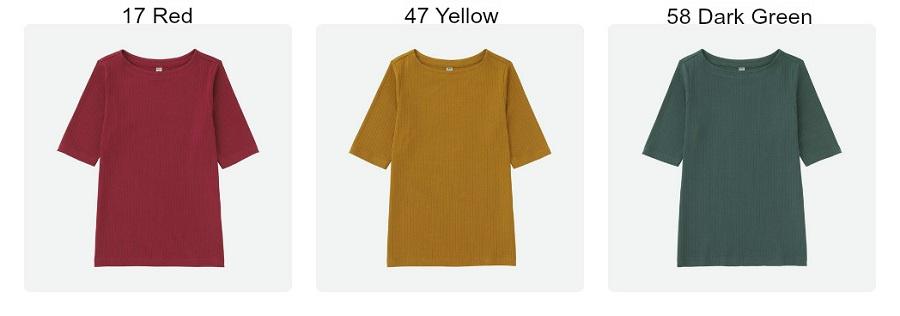 áo thun nữ tay lỡ uniqlo