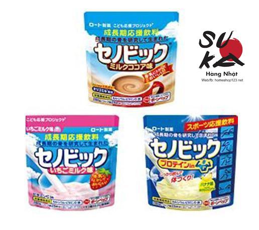 Bột Sữa Canxi Hỗ Trợ Tăng Chiều Cao Senobikku Nhật Bản 280g
