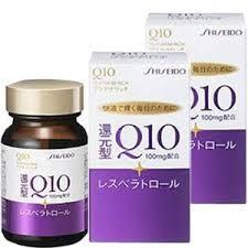 Shiseido Q10 platinum rich 100mg- Chống lão hóa da