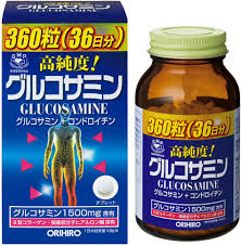 Thuốc bổ xương khớp Glucosamin 1500mg Orihiro Japan 360 viên
