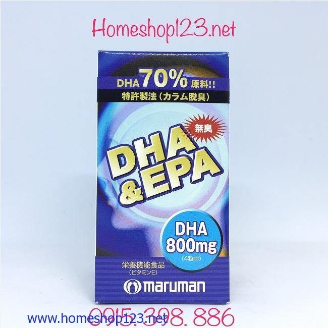 Công dụng của DHA và EPA đối với não bộ