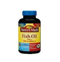 Dầu cá omega-3 1200mg Nature Made - Cung cấp các viatmin & khoáng chất giúp giảm nguy cơ bệnh tim mạch