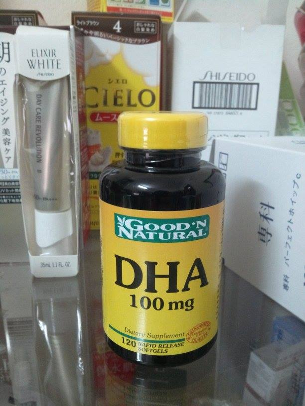 DHA 100mg Good'N Natural DHA 120 viên