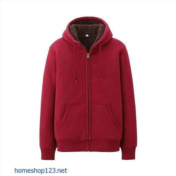 Áo khoác lông cừu nam cotton Uniqlo- Siêu ấm