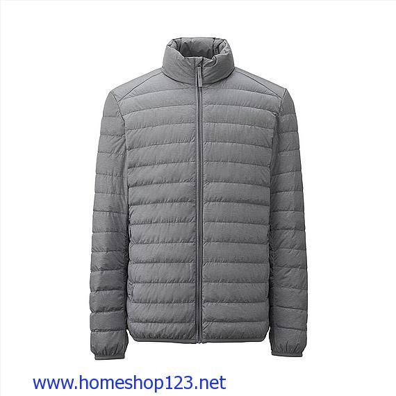 Áo Lông Vũ Nam Uniqlo Extra Warm 156558 - 04 Gray