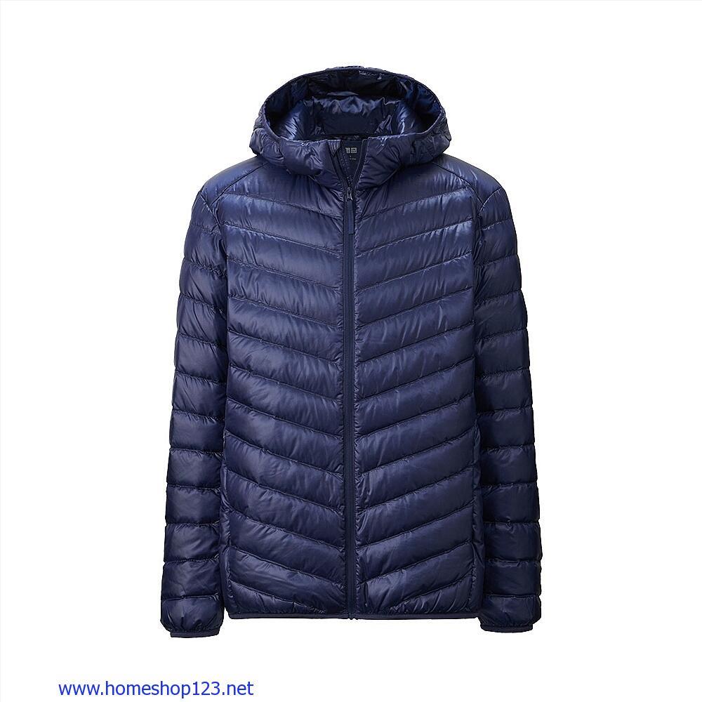 Áo lông vũ nam Uniqlo Extra Warm 67 Blue156562-67