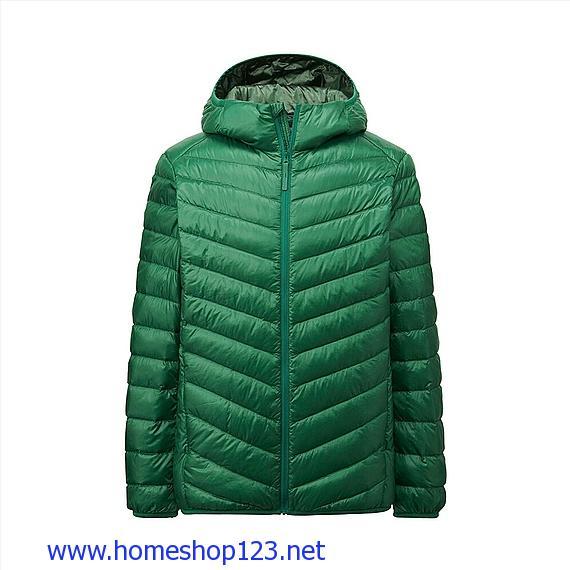 Áo Lông Vũ Nam Uniqlo Extra Warm 55 Green- 156562-55