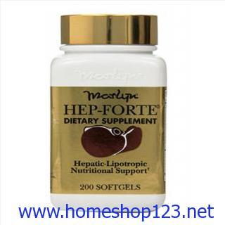 Hep-Forte: Lọ 200 Viên - Thuốc Bổ Gan