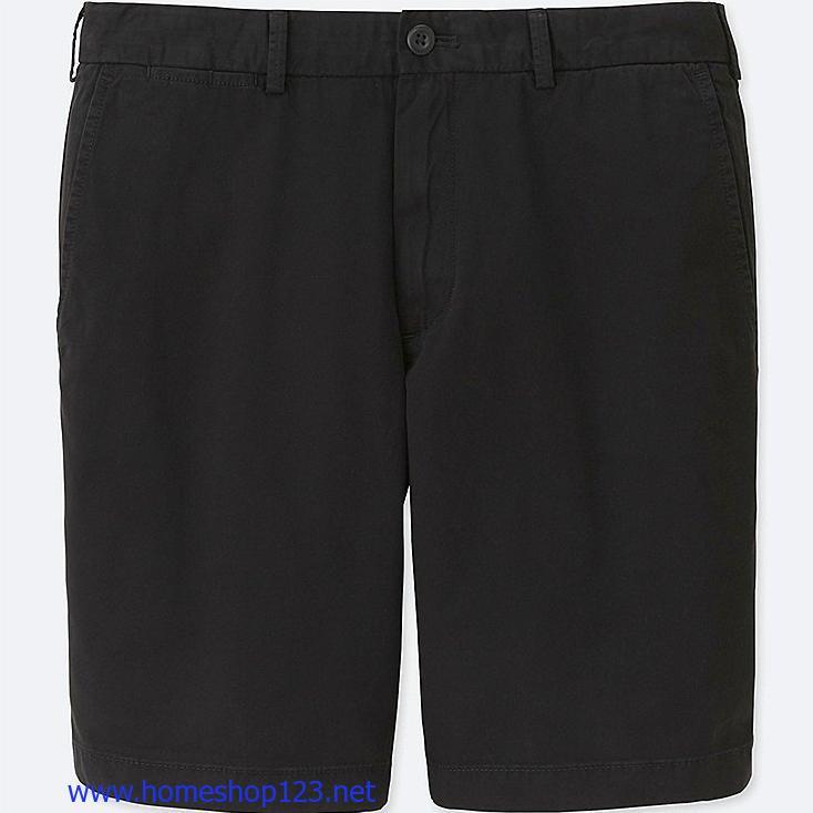 Quần CHINO SHORTS  Kaki Uniqlo 09 BLACK