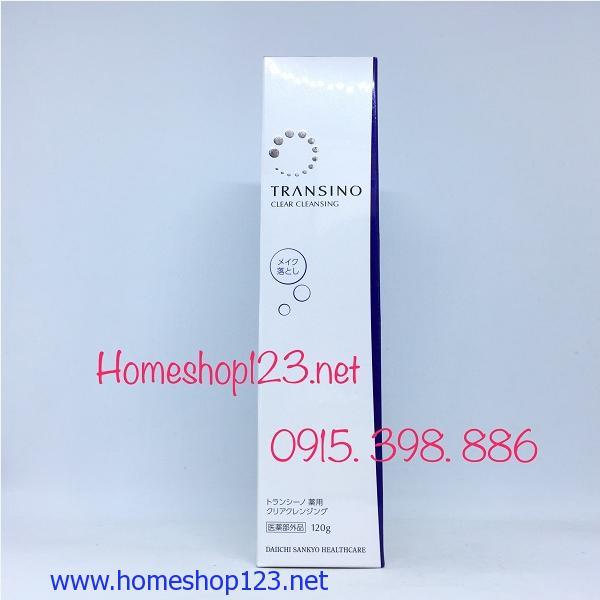 Tẩy trang Transino Clear Cleansing 120g