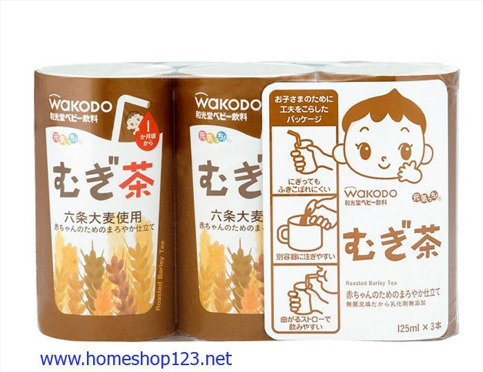 Trà lúa mạch cho trẻ em Nhật Bản WAKODO