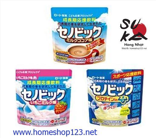 Bột Sữa Canxi Hỗ Trợ Tăng Chiều Cao Senobikku Nhật Bản