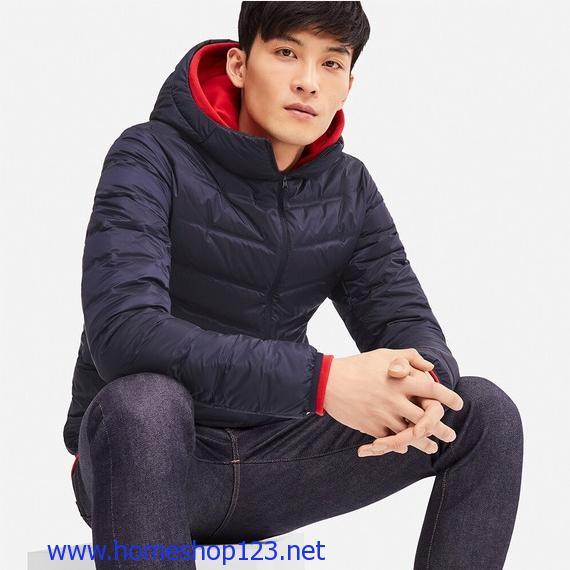 Áo Lông Vũ Nam Uniqlo Có Mũ Mới Nhất 2018 - 409325