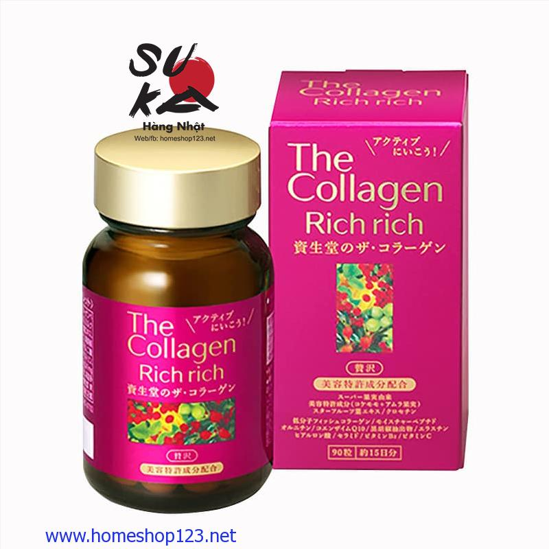 The Collagen dạng viên Nhật Bản - Rich Rich Shiseido