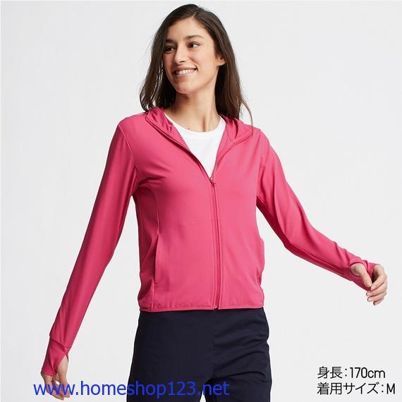 Áo chống nắng Uniqlo Nhật Bản 2019 12 Pink