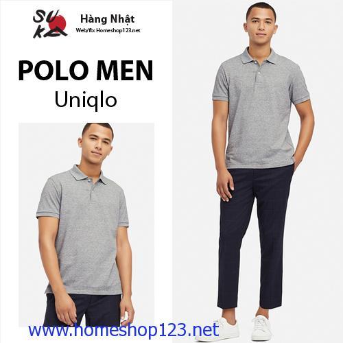 Áo Polo Nam Uniqlo Nhật Bản - Mới nhất 2019