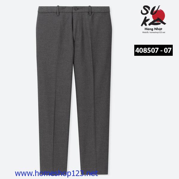 Quần Âu Nam Nhật Bản Uniqlo 408507-07 Gray