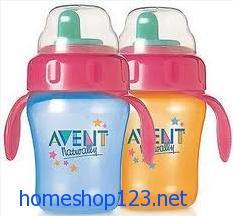 Set Bình uống nước Avent - USD của bé chống đổ chống sặc
