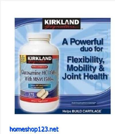 Thuốc bổ khớp của Mỹ Kirkland Signature™ Extra Strength Glucosamine with MSM 1500mg