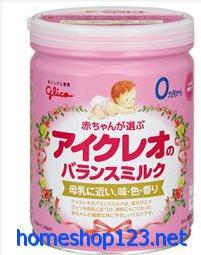Sữa Glico (Icreo) số 0 cho bé 0-9 tháng tuổi